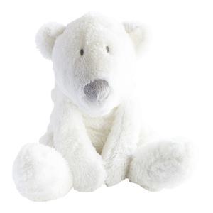Dimpel - 883129 - P'timo doudou bébé ours polaire 27 cm - blanc (264720)