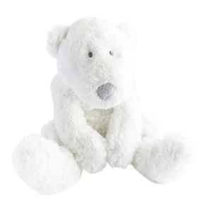 Dimpel - 883116 - P'timo doudou bébé ours polaire 22 cm - blanc (264722)