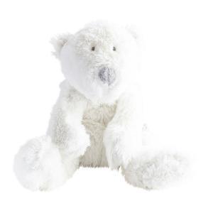 Dimpel - 883103 - P'timo doudou bébé ours polaire 17 cm - blanc (264724)