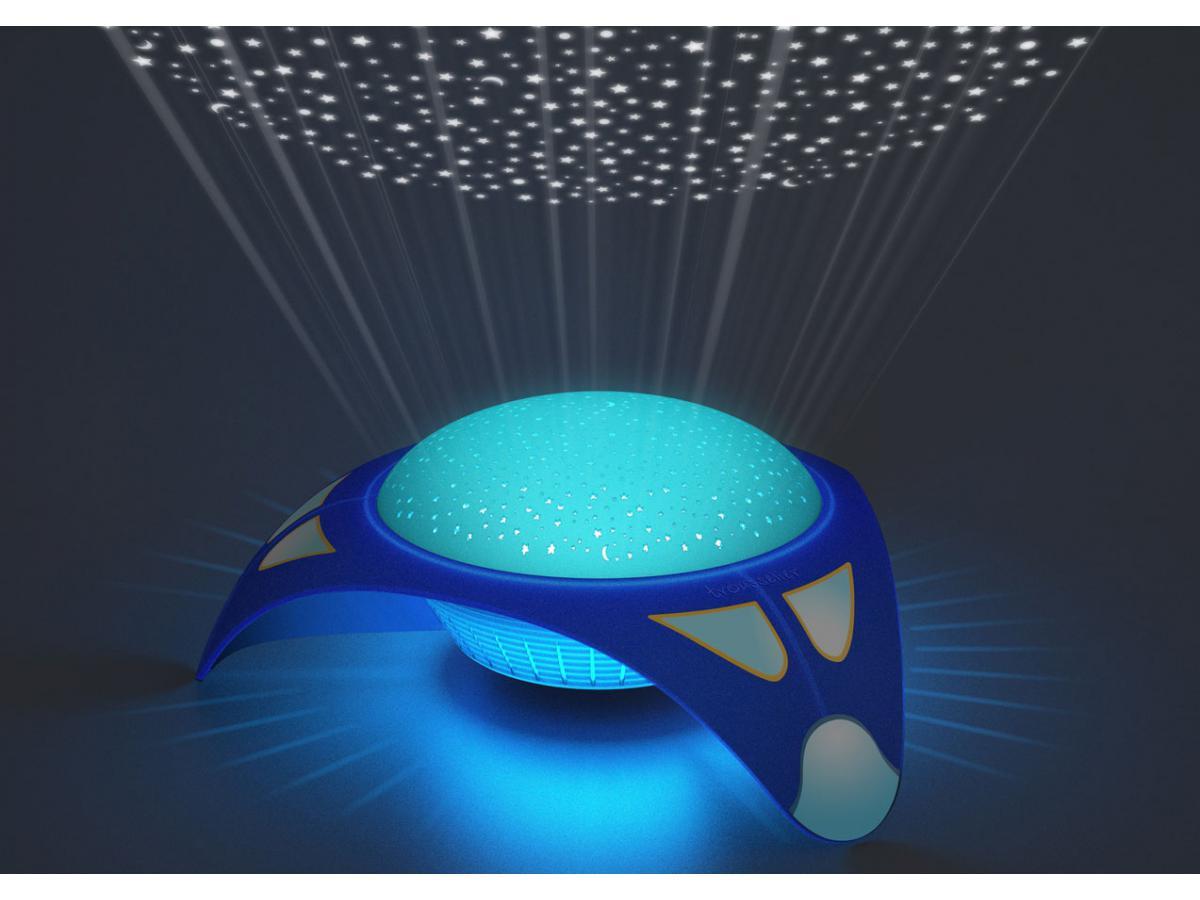 trousselier projecteur d 39 etoiles musical vaisseau spacial 24 cm. Black Bedroom Furniture Sets. Home Design Ideas