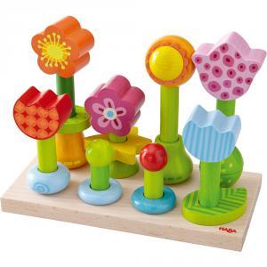 Haba - 301551 - Jeu à enficher Jardin de fleurs (265996)