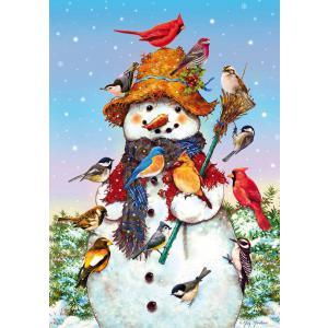 WentWorth - 612101_W - Puzzle 250 pièces - Bonhomme de neige amusant (266308)