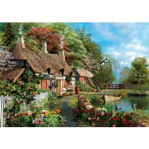 WentWorth - 620802_W - Puzzle 250 pièces - Riverside Home in Bloom (266326)