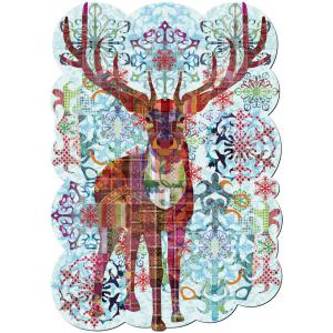 WentWorth - 651401_TMP - Puzzle 380 pièces - Reindeer Rhapsody (266582)