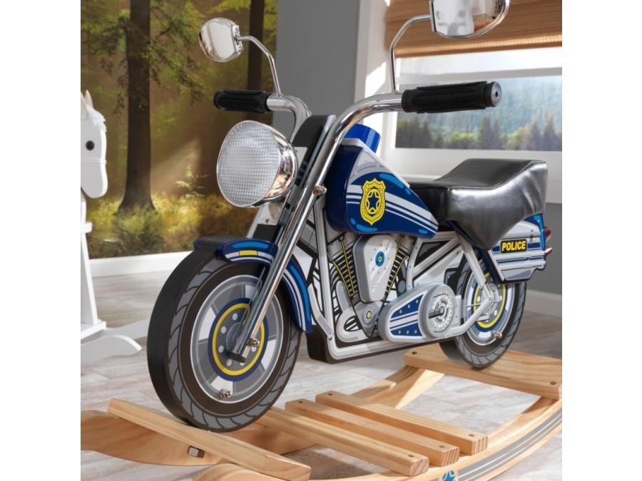kidkraft moto de police bascule. Black Bedroom Furniture Sets. Home Design Ideas