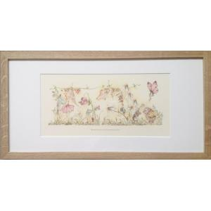 White Rabbit England - 29FPBRAM - Tableau fées - 30,5W x 57L (Grand) (267132)