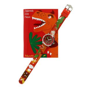 Babywatch - 230606184 - Coffret bon-heur pour apprendre à lire l'heure 7-9 ans Dinosaure (267156)
