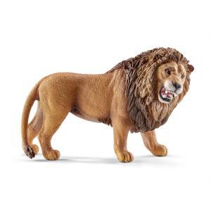 Schleich - 14726 - Figurine Lion rugissant - Dimension : 10,7 cm x 4,6 cm x 6,6 cm (270216)
