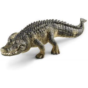 Schleich - 14727 - Figurine Alligator - Dimension : 19 cm x 5,9 cm x 3,7 cm (270218)