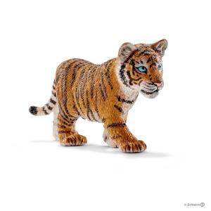 Schleich - 14730 - Figurine Bébé tigre du Bengale - Dimension : 7 cm x 2 cm x 4 cm (270224)