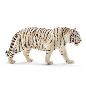 Schleich - 14731 - Figurine Tigre blanc mâle - Dimension : 13 cm x 3 cm x 6 cm (270226)
