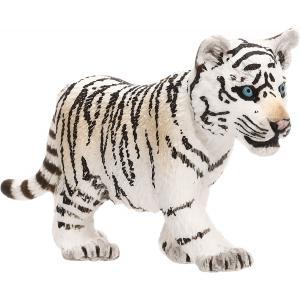Schleich - 14732 - Figurine Bébé tigre blanc - Dimension : 6,8 cm x 2,3 cm x 3,2 cm (270228)