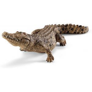 Schleich - 14736 - Figurine Crocodile - Dimension : 18 cm x 6,7 cm x 5,2 cm (270236)