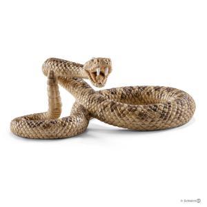 Schleich - 14740 - Figurine Serpent à sonnette - 3,9 cm x 6,3 cm x 2,5 cm (270244)