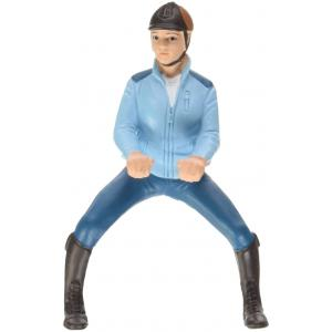 Schleich - 42163 - Figurine Cavalière de compétition, turquoise (270322)