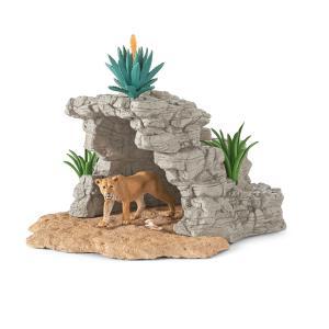 Schleich - 42256 - Kit de jeu grotte pour figurines (270340)