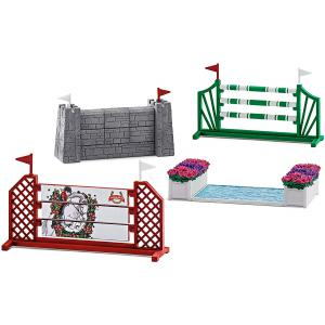 Schleich - 42271 - Parcours de saut d'obstacles (270350)