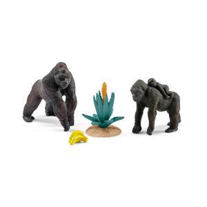 Schleich - 42276 - Figurines Famille de gorilles (270354)
