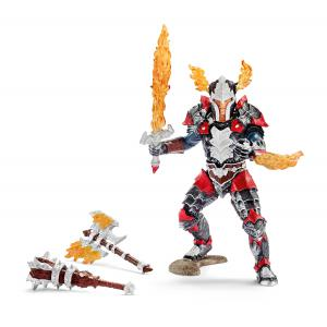 Schleich - 70122 - Figurine Chevalier dragon, héros avec armes (270358)