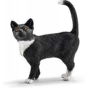 Schleich - 13770 - Figurine Chat, debout 5,5 cm x 2 cm x 6 cm (270424)