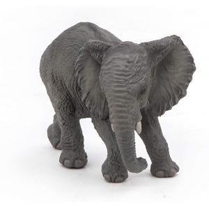 Papo - 50169 - Jeune éléphant d'Afrique - Dim. 7 cm x 5 cm x 3 cm (271024)