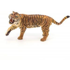 Papo - 50182 - Tigre rugissant - Dim. 15 cm x 6 cm x 8 cm (271046)