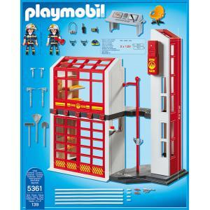 Playmobil - 5361 - Caserne de pompiers avec alarme (271334)