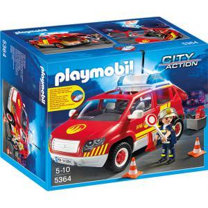 Playmobil - 5364 - Véhicule d'intervention avec sirène (271340)