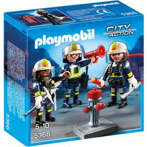 Playmobil - 5366 - Unité de pompiers (271344)