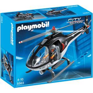 Playmobil - 5563 - Hélicoptère avec policier des forces spéciales (271426)