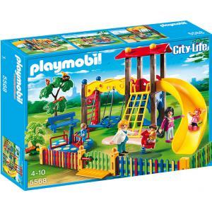 Playmobil - 5568 - Square pour enfants avec jeux (271436)