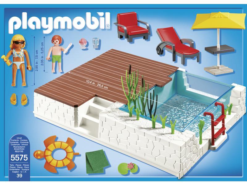 Playmobil piscine avec terrasse - Piscine moderne playmobil ...