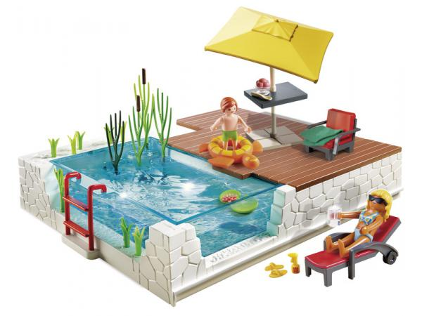 Playmobil piscine avec terrasse for Piscine playmobil 5575