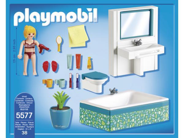 Playmobil salle de bains avec baignoire for Salle de bain avec baignoire playmobil