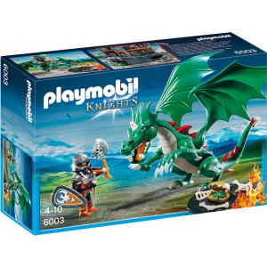 Playmobil - 6003 - Chevalier avec grand dragon vert (271478)