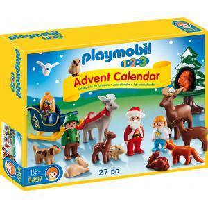 Playmobil - 5497 - Calendrier de l'Avent 1.2.3