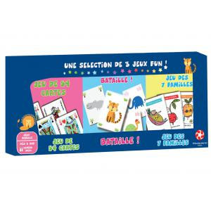 Winning moves - 0667 - TRIPACK JEUX DE CARTES (273312)