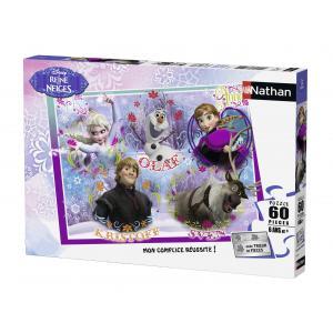 Nathan puzzles - 86635 - Puzzle 60 pièces - Bienvenue au royaume d'Arendelle / La Reine des Neiges (273358)