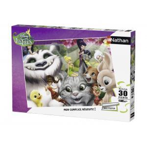 Nathan puzzles - 86337 - Puzzle 30 pièces - Clochette et la créature légendaire / Disney Fairies (273372)