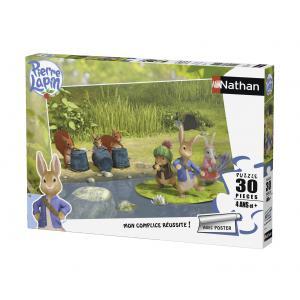 Nathan puzzles - 86336 - Puzzle 30 pièces - Au bord de la rivière / Pierre Lapin (273374)
