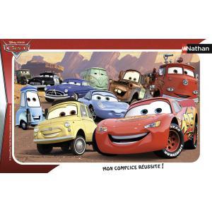 Nathan puzzles - 86115 - Puzzle cadres 15 pièces - Nathan - Le monde de Cars (273402)