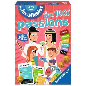 Ravensburger - 26649 - Jeux de société enfants - Le jeu des Incollables Spécial Passions - Jeux de réflexion (273412)