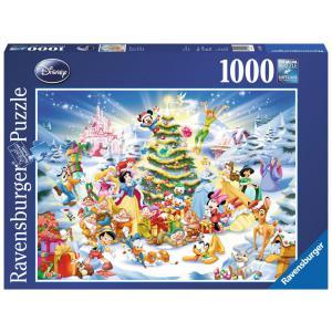 Disney - 19287 - Puzzle 1000 pièces - Noël avec Disney (273558)