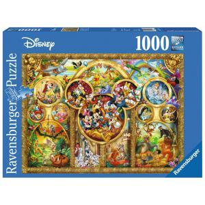 Disney - 15266 - Puzzle 1000 pièces - Les plus beaux thèmes Disney (273560)