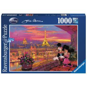 Disney - 19327 - Puzzle 1000 pièces - A Paris - Disney (273568)