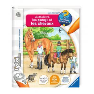 Ravensburger - 00647 - Livres tiptoi® Je découvre les poneys et les chevaux (273676)