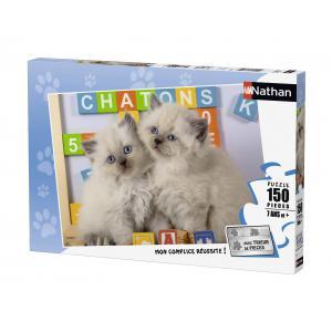 Nathan puzzles - 86861 - Puzzle 150 pièces - Nathan - Deux compères (273792)