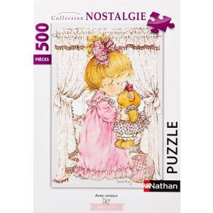 Nathan puzzles - 87212 - Puzzle 500 pièces - Avec amour / Sarah Kay (273810)