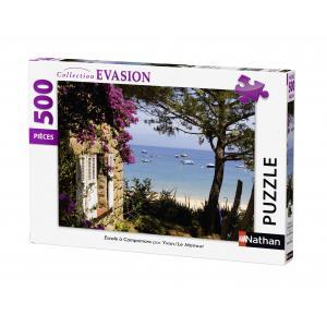 Nathan puzzles - 87211 - Puzzle 500 pièces - Escale à Campomoro (273816)
