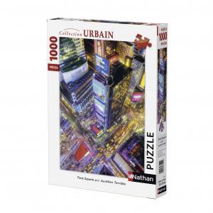 Nathan puzzles - 87595 - Puzzle 1000 pièces - Time Square (273822)